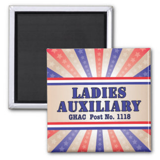 Ladies Auxiliary Magnet by Andy Mathis