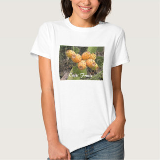 Ladies Baby Doll (Fitted) Cacti Fruits T-shirts