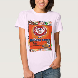 Ladies Baby Doll pure baking T-shirt