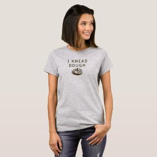 Ladies Bakery Shirt, I Knead Dough by Blue Jay Bay T-Shirt