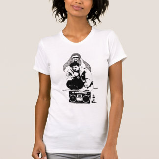 Ladies Bambatta destroyed T T-Shirt