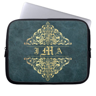 Ladies Baroque Style Executive Laptop Skin Computer Sleeves