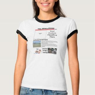 Ladies Basic Ringer T-shirts