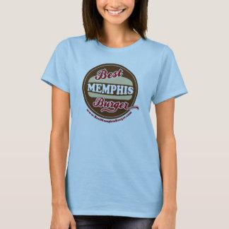 Ladies Best Memphis Burger Petite Teeshirt T-Shirt