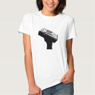 Ladies' Brick white baby doll t-shirt