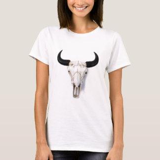 """Ladies """"Buffalo Skull"""" T-Shirt"""