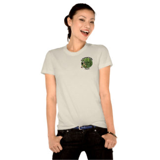Ladies Bushwhacking Fool Organic (fitted) T-Shirt