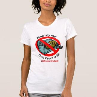 Ladies C25K Graduate's Micro Fiber Singlet T-Shirt