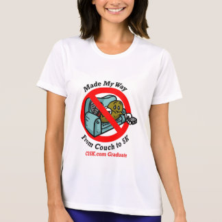 Ladies C25K Graduate's Micro Fibre T-Shirt