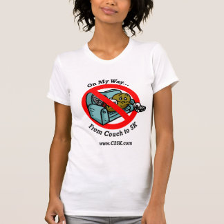 Ladies C25K Program Micro Fiber Singlet Tee Shirts