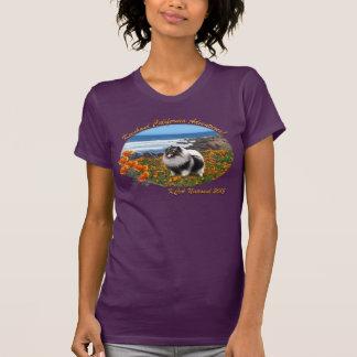 Ladies' California Keeshond logo shirt