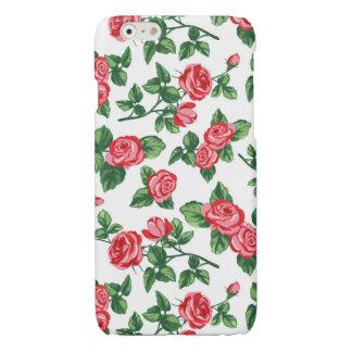 Ladies Chic Roses - Elegant Floral Glossy iPhone 6 Case