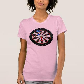 Ladies Dartboard Shirt