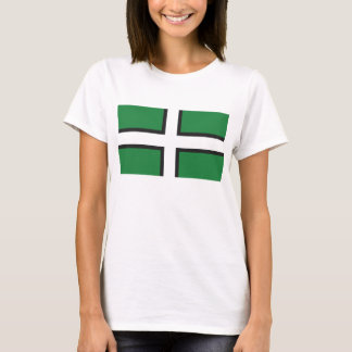 Ladies 'Devon Flag' Tee