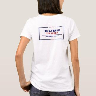 Ladies Dump Trump - Make America Safe Again T-Shirt