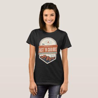 Ladies Fast n' Curious Basic T-Shirt