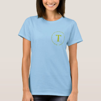 "Ladies Fitted T ""Tim's 40th"" T-Shirt"