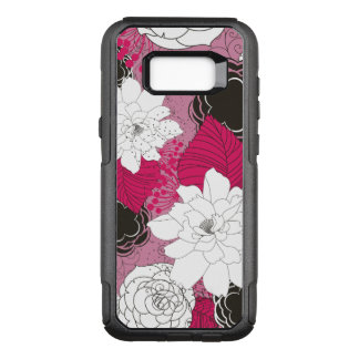 Ladies Floral Pattern OtterBox Commuter Samsung Galaxy S8+ Case