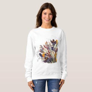 Ladies Floral Sweat Shirt