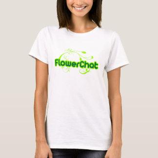 Ladies FlowerChat T-shirt