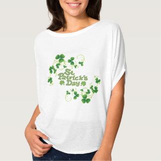 Ladies Flowy St Patrick's Day Top