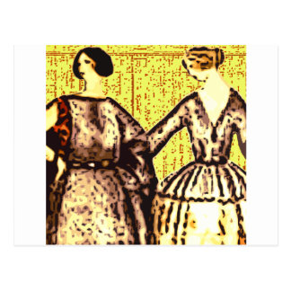 Ladies - Friends Postcard