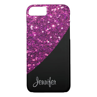 Ladies Glitter Monogram iPhone 8/7 Case