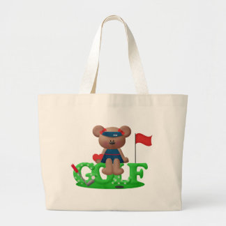 Ladies Golf Gift Large Tote Bag