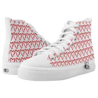 Ladies Hearts Shoes