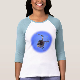 Ladies Helicopter Jersey Chopper Baseball Shirt