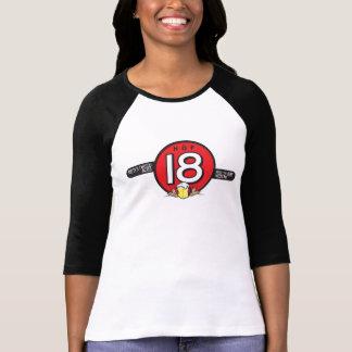 Ladies HOF18 Baseball Shirt