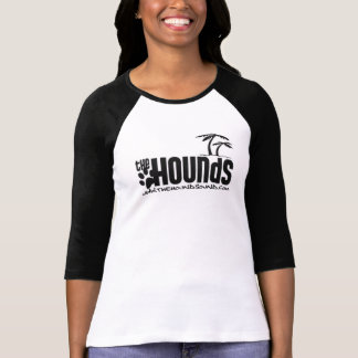 Ladies Hounds Palm Baseball T Shirts