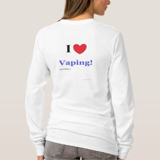 "Ladies ""I Love Vaping!"" Hoodie"