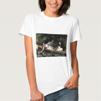Ladies in a Boat painting Tshirts