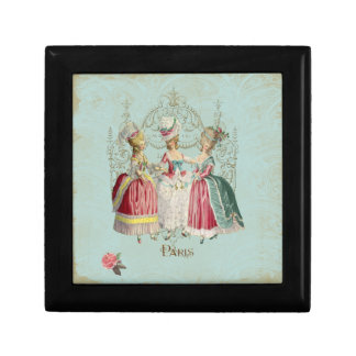 Ladies in Waiting Marie Antoinette Box Small Square Gift Box