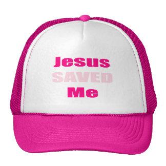 Ladies Jesus Saved Me Hat