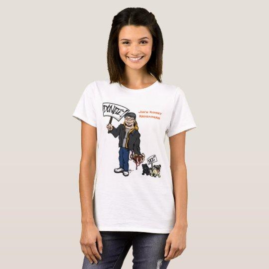 Ladies Kidney Krusaders/Donate T-shirt