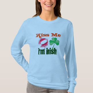 Ladies Kiss Me I'm Irish shirts
