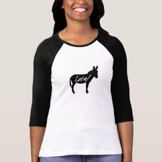 Ladies Local Donkey baseball jersey various colour Shirt