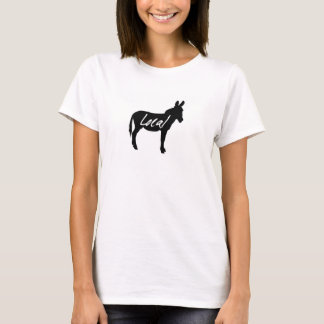 Ladies Local Donkey Hanes Tshirt Various Colours