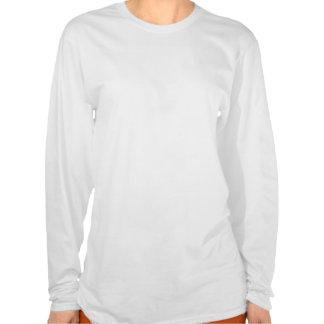Ladies Long Sleeve T-Shirt - Ghosts on railroad