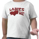 Ladies Love Me Kids Tshirt