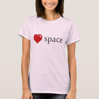 Ladies 'Love Space' Tee