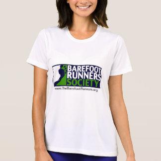 Ladies Microfiber T Negative Logo+URL T-Shirt