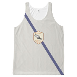 Ladies' Mid-City Athletic Club All-Over Print Tank Top