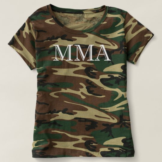 Ladies MMA Camo Shirt
