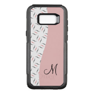 Ladies Modern Monogram OtterBox Commuter Samsung Galaxy S8+ Case