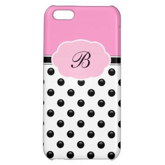 Ladies Monogram iPhone 5C case
