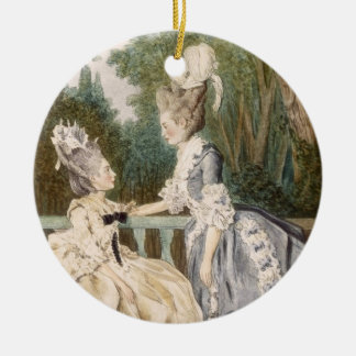 Ladies' Morning Dress, 1771 (colour engraving) Christmas Ornament