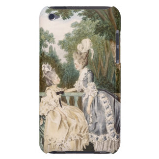 Ladies' Morning Dress, 1771 (colour engraving) iPod Touch Cover